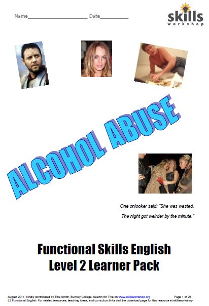 fabulous and very topical study pack for Level 2 Functional English ...