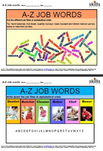 Printables Adult Literacy Worksheets rwe2 4 skills workshop complement the alphabetical ordering component of e2 and e3 adult literacy exams there are four printable worksheets suitable for levels e3