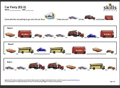 math worksheet : numeracy resources  skills workshop : Entry Level Maths Worksheets