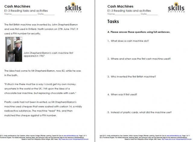 Worksheet Free Independent Living Skills Worksheets business money management skills workshop resource type discussion points reading comprehension worksheet or assignment