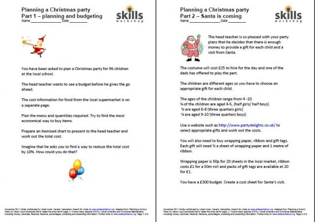 Christmas Party Planning.Planning A Christmas Party