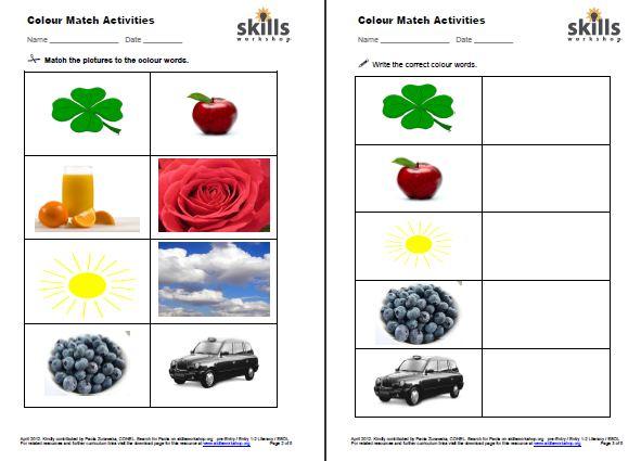 Esol Rw E1 1a Skills Workshop