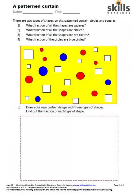 math worksheet : n2 l1 12  skills workshop : Fractions Of Sets Worksheets