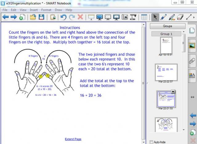 Fingers multiplication method for x6, x7, x8, x9 | Skills Workshop
