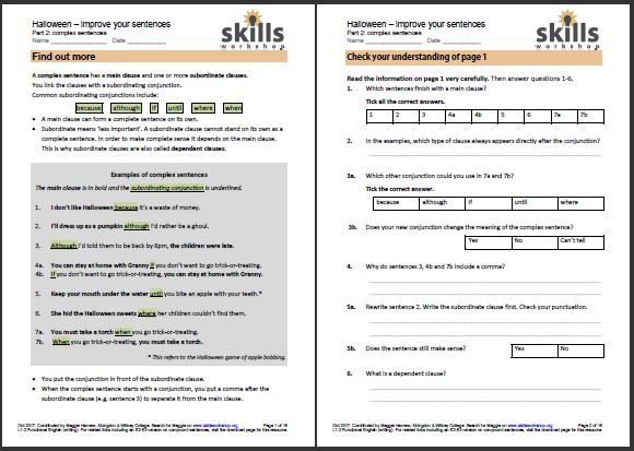 Adult Literacy, Functional English, and GCSE Resources