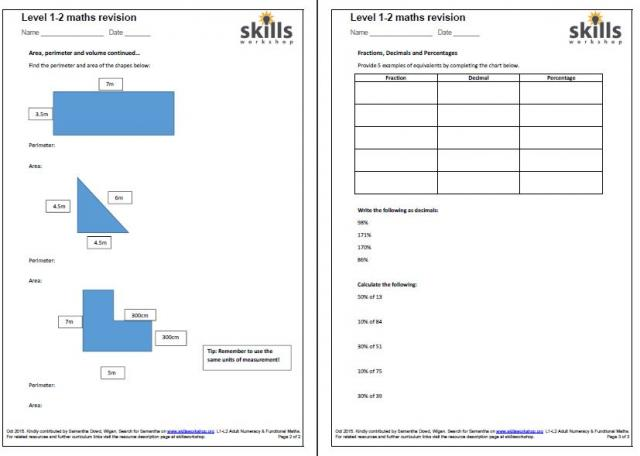 Functional Skills Maths Level 2 Worksheets 1000 images about – Maths Level 2 Worksheets