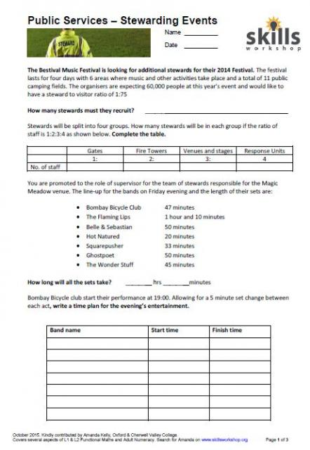 Printables Employment Skills Worksheets employment skills public services workshop a functional based project aimed at my service students who are going to be on stewarding course i linked some questions abou