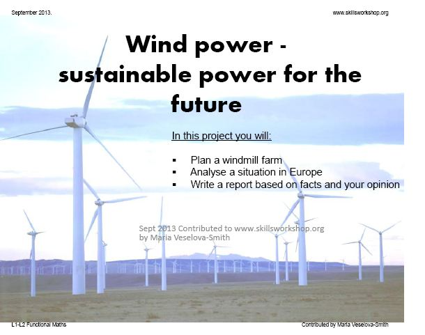 wind energy essays