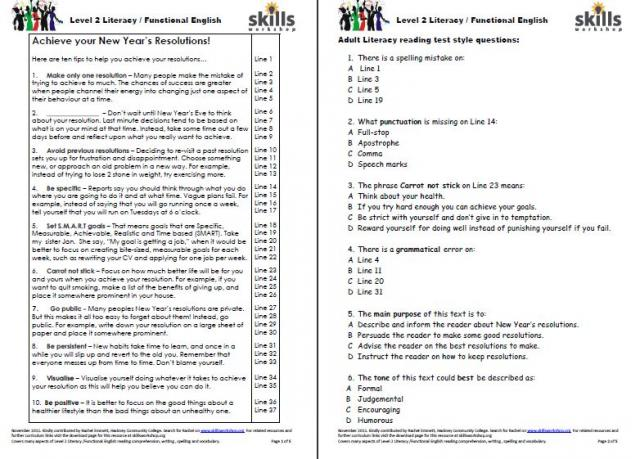 Reading Comprehension Worksheets Ks3 - Laptuoso