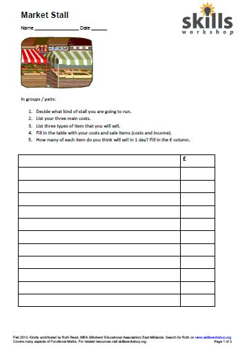 Stock Market Project Worksheet Answers Futures Trading Jobs
