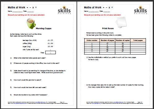 math worksheet : functional maths  measures shape money  skills workshop : Functional Math Worksheets