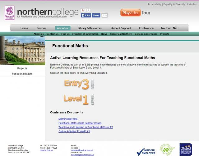 Active Learning Resources For Teaching Functional Maths