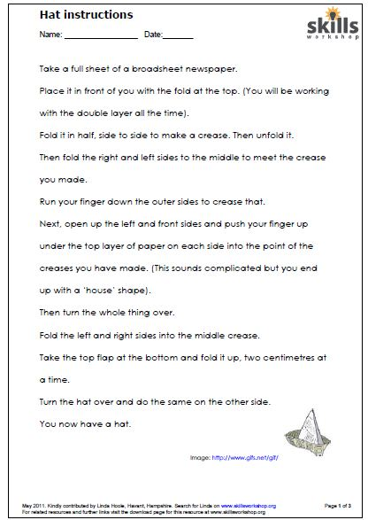 Functional skills literacy letter writing