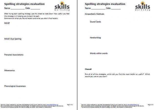 Worksheets Worksheets For Dyslexia dyslexia support skills workshop this was designed to be used with a group of dyslexic learners but would applicable for any spelling difficulties