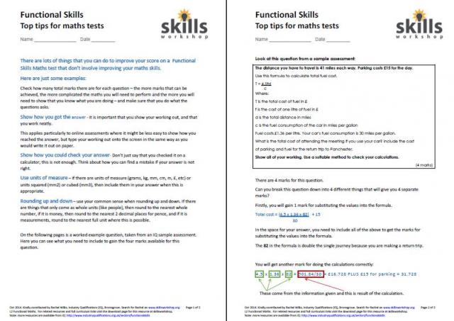 math worksheet : revision material  skills workshop : Maths Level 1 Worksheets