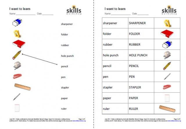 Resource type: Flash cards , Sort or match cards , Worksheet or ...