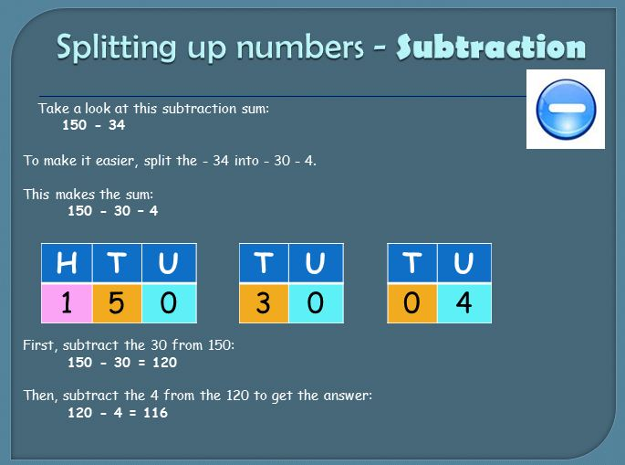 Ways of adding and subtracting | Skills Workshop